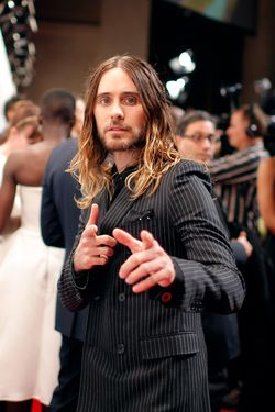 Jared Leto attends IFP's 23nd Annual Gotham Independent Film Awards at Cipriani Wall Street on December 2, 2013 in