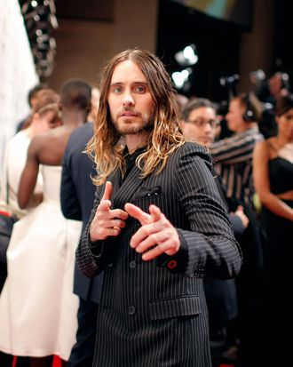Jared Leto attends IFP's 23nd Annual Gotham Independent Film Awards at Cipriani Wall Street on December 2, 2013 in New York City.