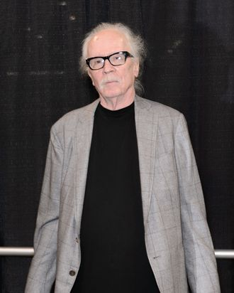 CHICAGO, IL - AUGUST 22: John Carpenter attends Wizard World Chicago Comic Con 2014 at Donald E. Stephens Convention Center on August 22, 2014 in Chicago, Illinois. (Photo by Daniel Boczarski/Getty Images)