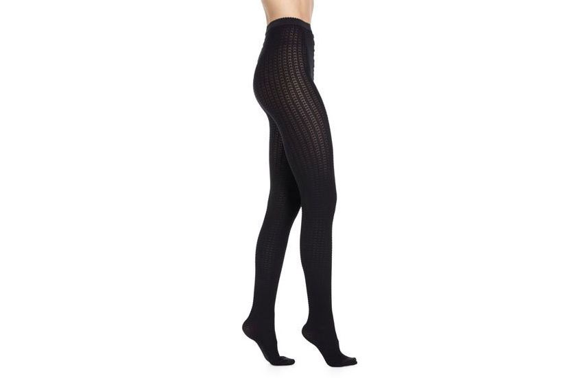Wolford Alba Opaque Patterned Tights