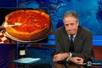 Watch Jon Stewart Take Down Chicago-Style Deep-Dish Pizza
