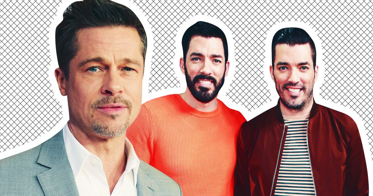 Brad Pitt Is the New Property Brother