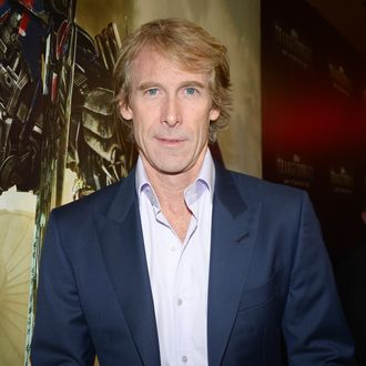 Director Michael Bay arrives to the Miami Special Screening of