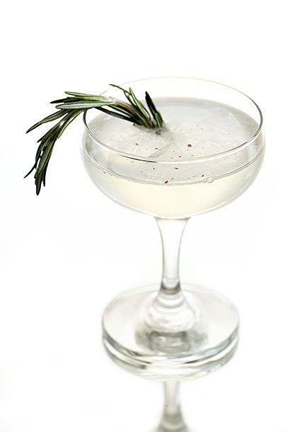 "<b>Black Diamond</b>   <i><a href=""https://www.facebook.com/MontgomeryDistillery"">Montgomery Distillery</a>, Missoula</i>   The family-owned distillery uses its own spirits in this drink served at its tasting room: Strip the bottom leaves off a 3 or 4-inch sprig of rosemary. Reserve remaining rosemary spear and add the stripped leaves to a shaker and add 3/4 ounce lemon juice. Muddle. Add 1 1/2 ounce vodka, 3/4 ounce simple syrup <a href=""http://www.yumsugar.com/Basic-Honey-Syrup-Recipe-12438493"">made with honey</a>, and fresh pepper with four turns of a pepper mill. Shake well with ice and strain into a large coupe glass. Add a splash of club soda and garnish with the reserved rosemary spear and more pepper if desired."