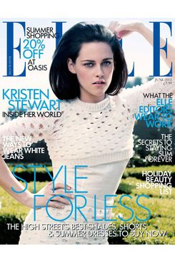 Kristen Stewart for <em>Elle</em> UK.