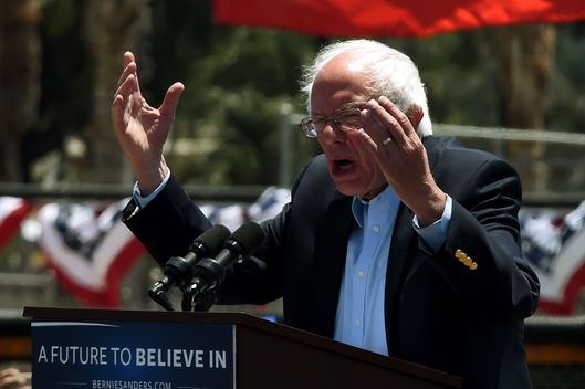 Donald Trump's frequent change of mind an issue of concern: Bernie Sanders