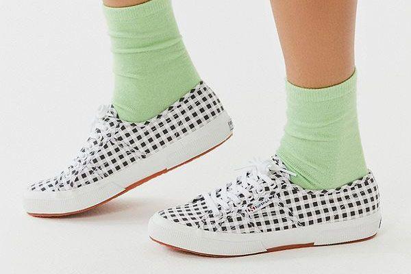 Superga 2750 Gingham Sneaker