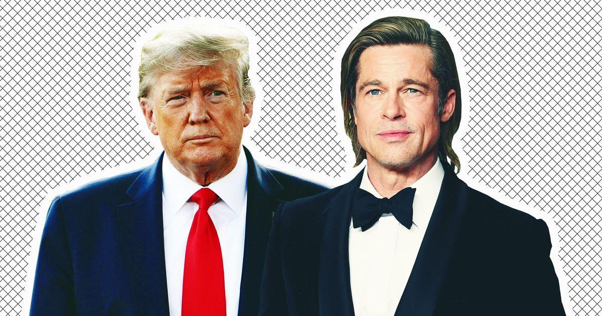 Trump Comes for Brad Pitt