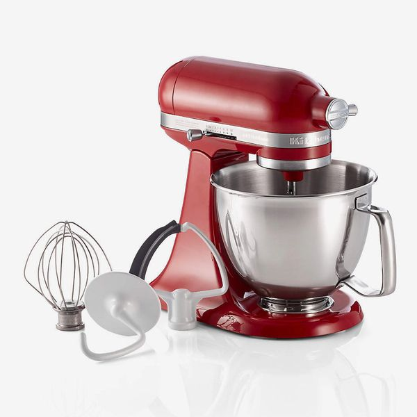 KitchenAid Artisan Empire Red Mini Mixer with Flex Edge Beater