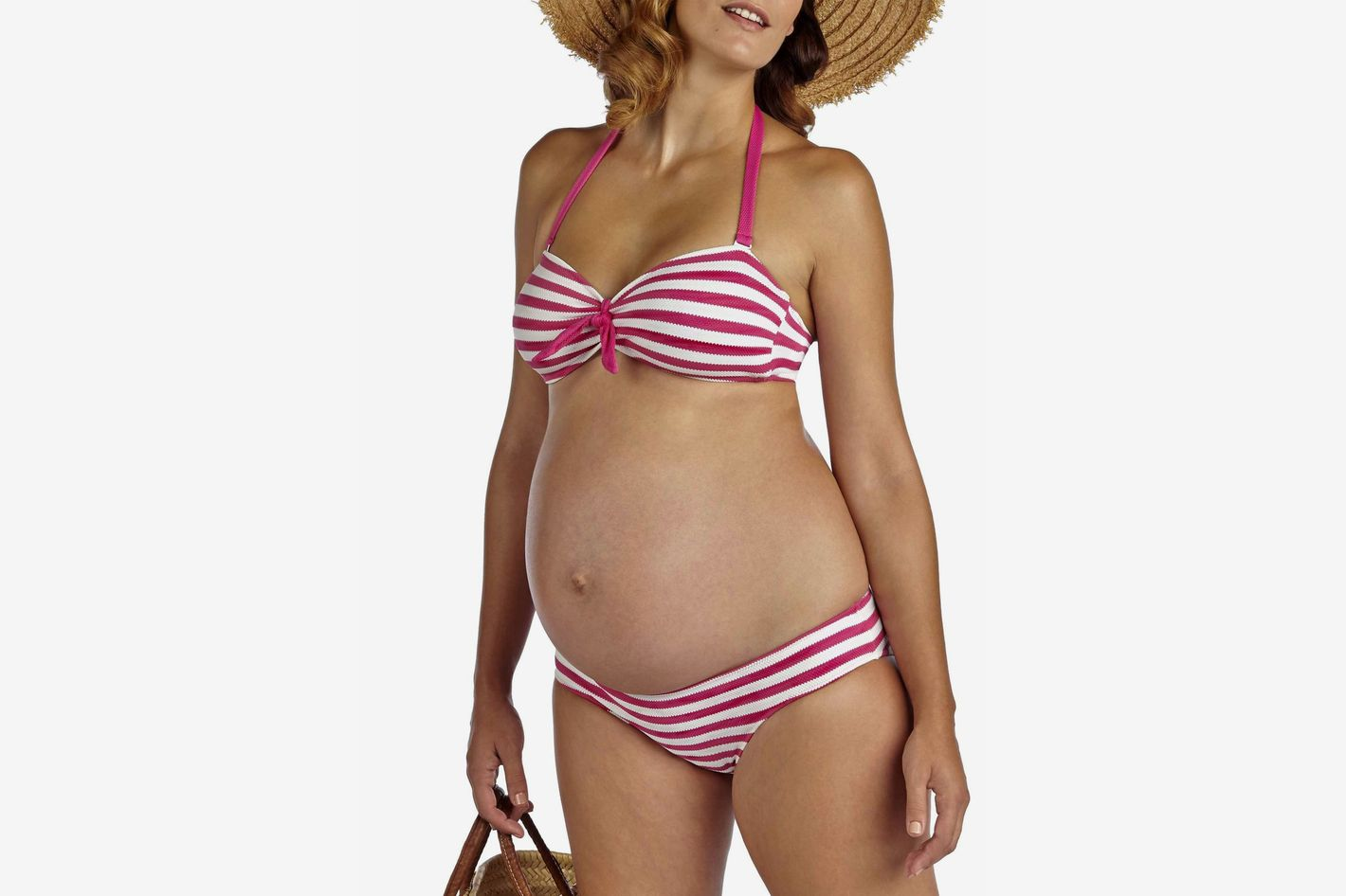e7c592f3502f 37 Maternity Swimsuits You'll Actually Want to Wear
