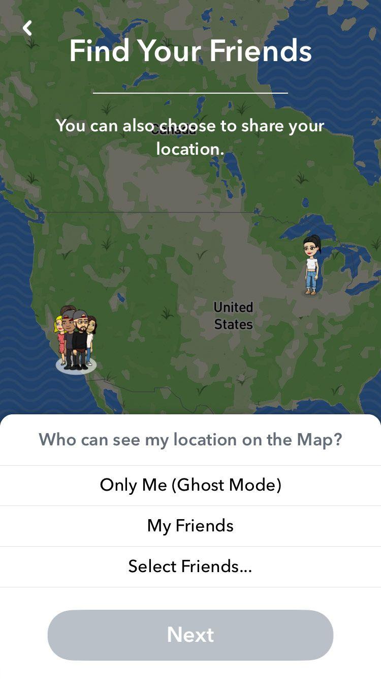 Snapchat member search