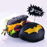 The Official DC Comics Restaurant Serves Batman Burgers With Black Buns