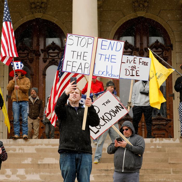 The Lockdown Backlash May Be the New Tea Party Movement