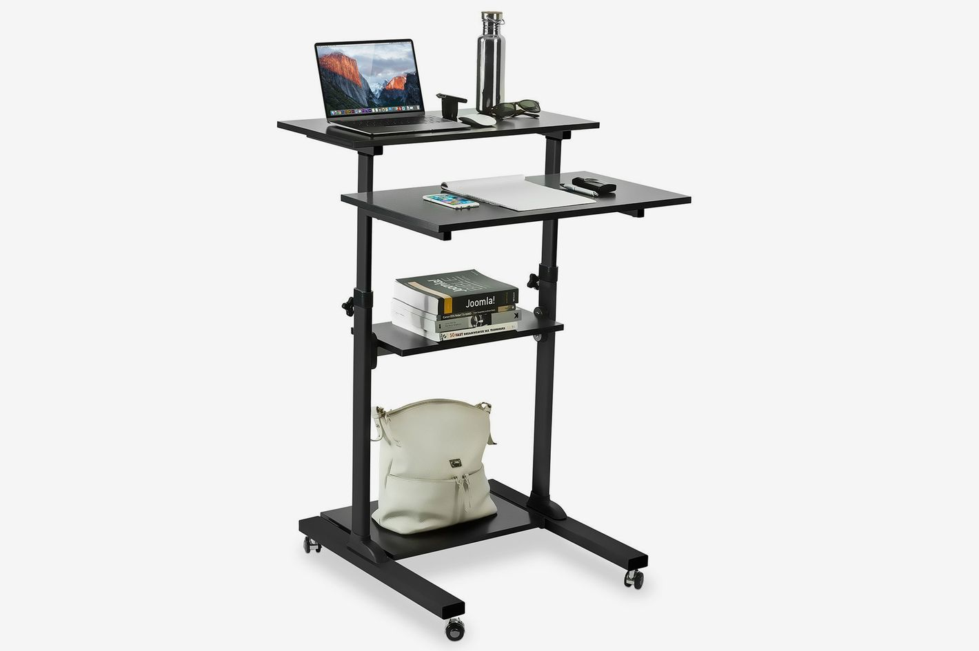 Mount It Mobile Standing Desk
