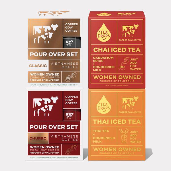 Copper Cow Coffee The Coffee + Tea Bundle