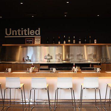 Untitled's new menu starts Thursday.