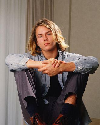 LOS ANGELES, CA - 1988: Actor River Phoenix, star of