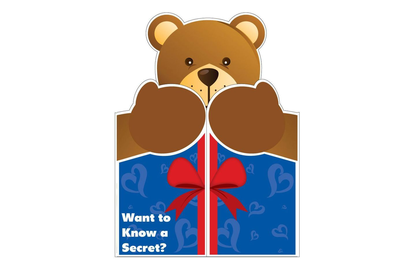 Jumbo Bear Card