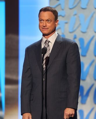 PASADENA, CA - DECEMBER 07: Actor Gary Sinise onstage at the American Giving Awards presented by Chase held at the Pasadena Civic Auditorium on December 7, 2012 in Pasadena, California. (Photo by Frederick M. Brown/Getty Images)