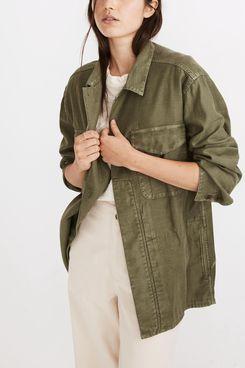 Madewell Military Shirt Jacket