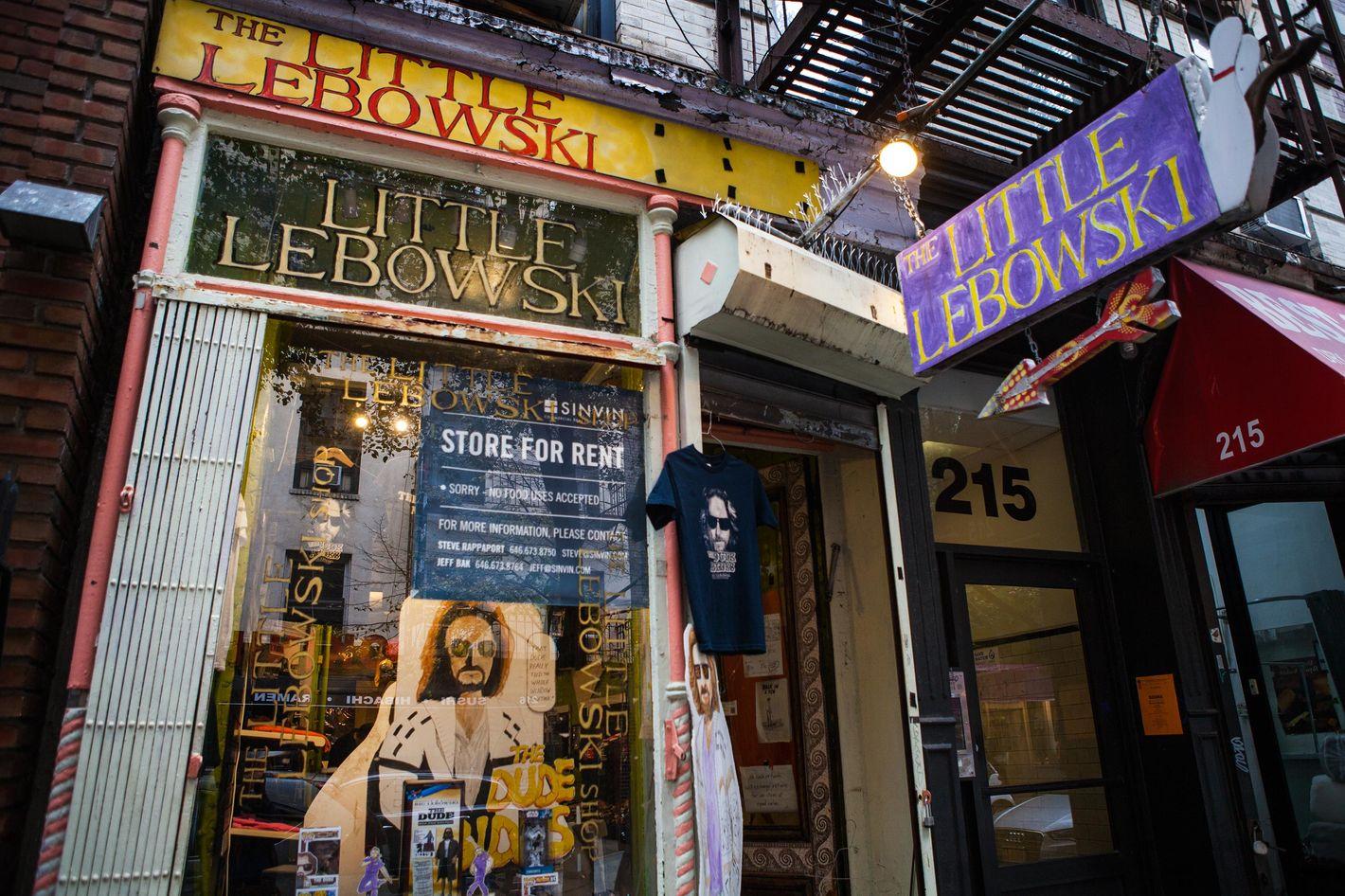 El gran lebowski tienda de regalos