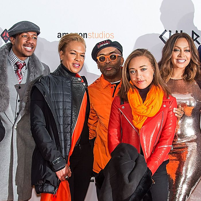 The cast of Spike Lee's <i>Chi-Raq</i>.