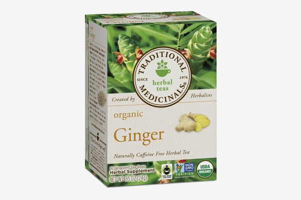 Traditional Medicinals Organic Ginger Tea, 16 Tea Bags (6-pack)