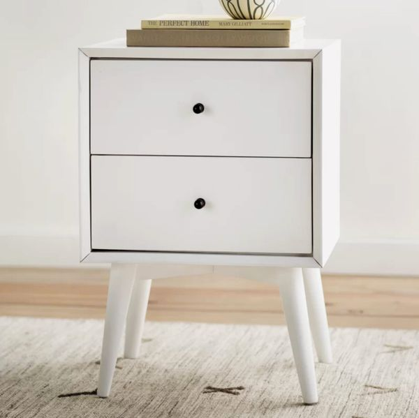 Langley Street Parocela Two-Drawer Nightstand
