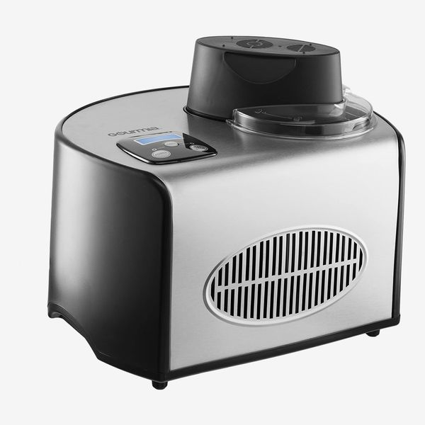 Gourmia Automatic Ice Cream Maker Stainless Steel 1.6 Qt