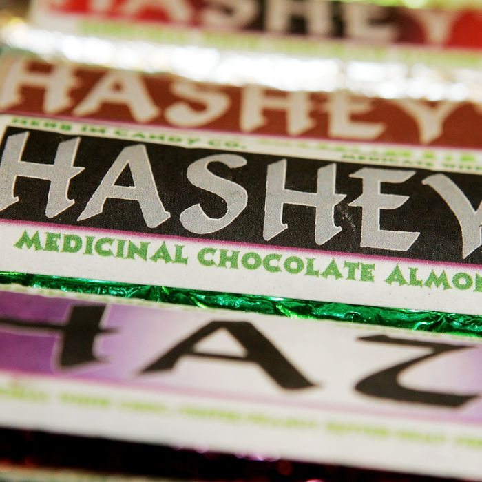 That's not a Hershey's bar.