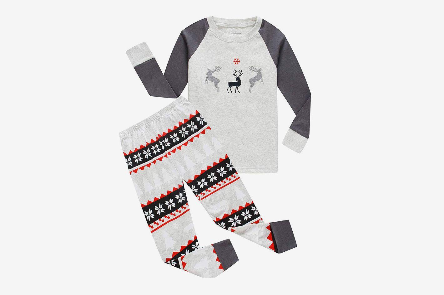 Boys Christmas Reindeer Pajamas