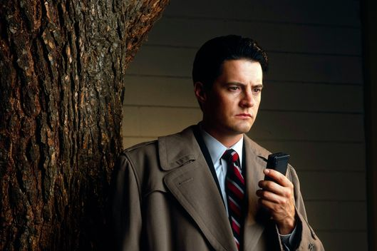 TWIN PEAKS - Episodes 2.1 & 2.2 - Airdate: October 13, 1990. (Photo by ABC Photo Archives/ABC via Getty Images) KYLE MACLACHLAN