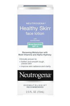 Neutrogena Healthy Skin Face Moisturizer Lotion With SPF 15