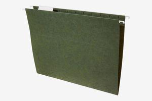 AmazonBasics Hanging File Folders - Letter Size, 25-Pack