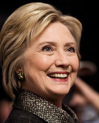 Hillary Clinton, a woman with thick skin.