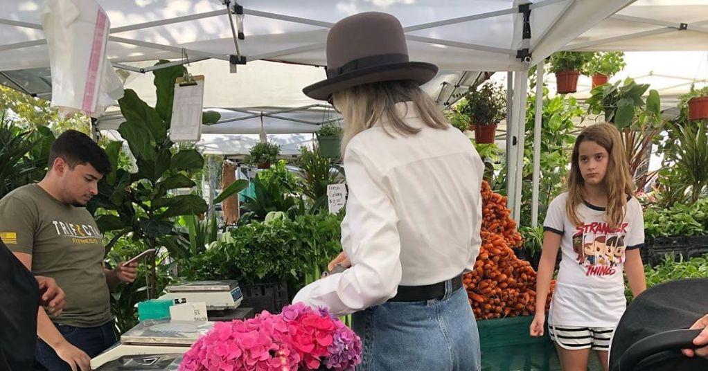Diane Keaton's GENIUS PANTS Went to the Farmer's Market