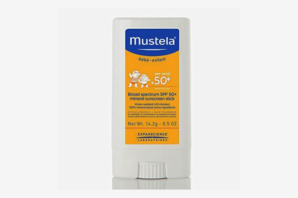 Mustela Broad Spectrum SPF 50-Plus Mineral Sunscreen Stick
