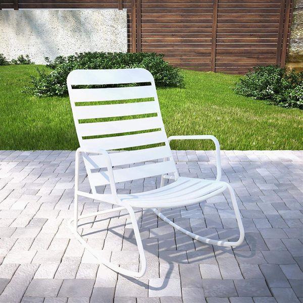 Novogratz Roberta Outdoor Rocking Chair