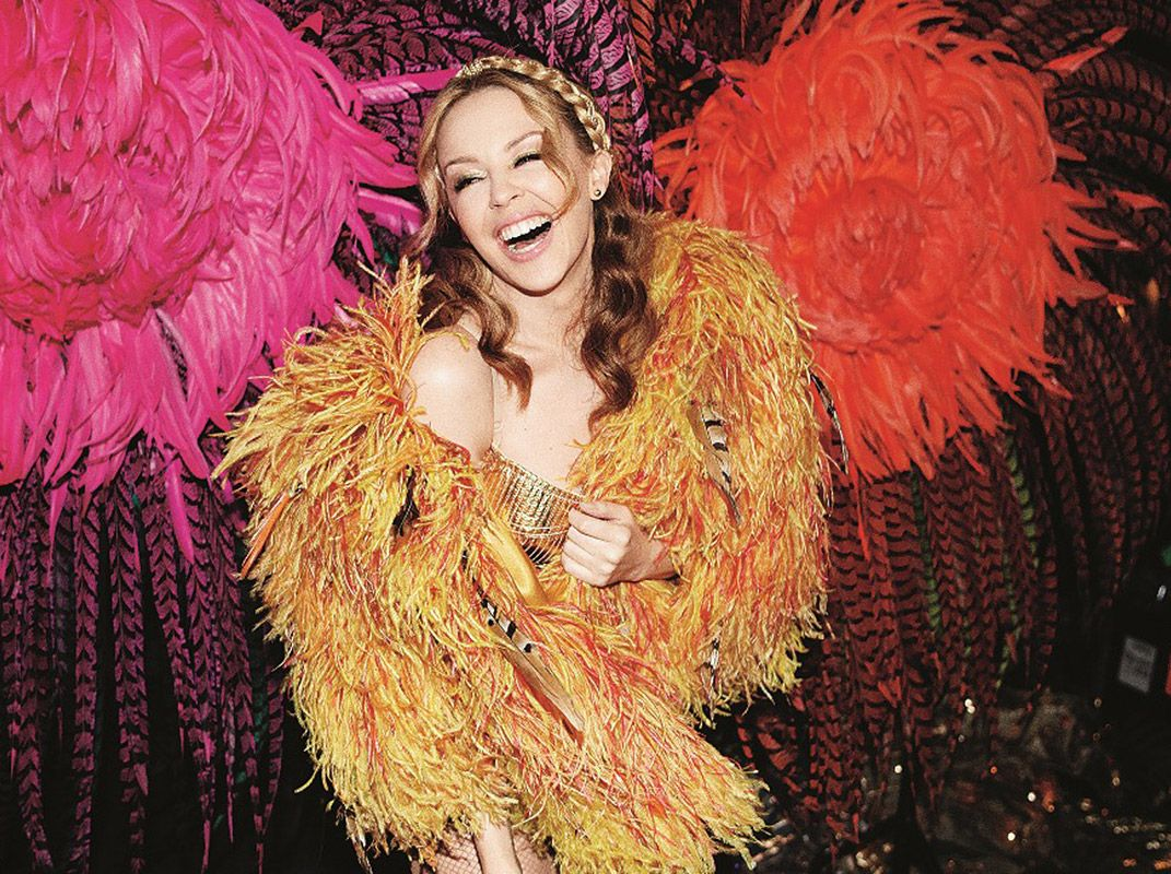 Kylie minogue on skimpiest dress she's ever worn    the cut