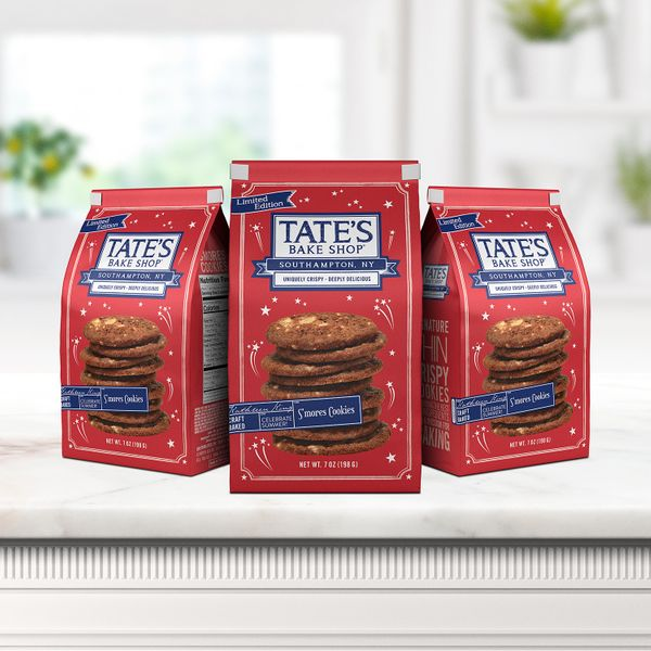 Tate's Bake Shop S'mores Cookies, 3 Pack