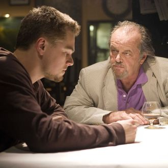 "Undercover cop Billy Costigan (LEONARDO DiCAPRIO) infiltrates the Irish mob led by Costello (JACK NICHOLSON) in Warner Bros. Pictures' crime drama ""The Departed."" PHOTOGRAPHS TO BE USED SOLELY FOR ADVERTISING, PROMOTION, PUBLICITY OR REVIEWS OF THIS SPECIFIC MOTION PICTURE AND TO REMAIN THE PROPERTY OF THE STUDIO. NOT FOR SALE OR REDISTRIBUTION."