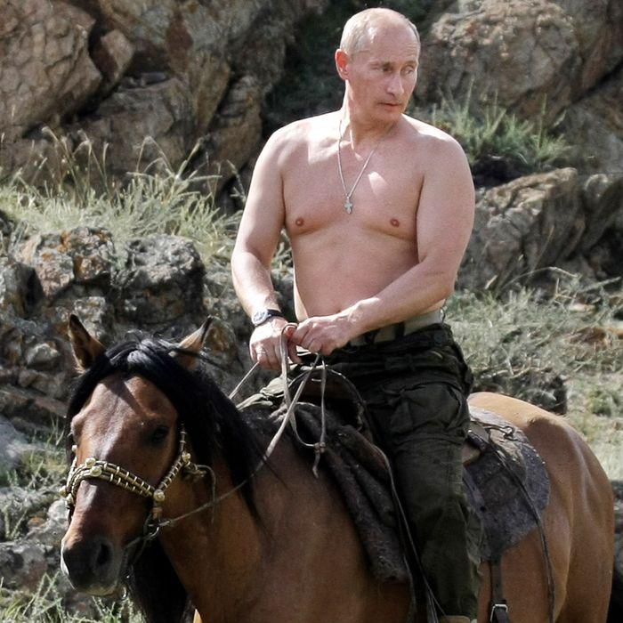 Putin = teen heartthrob.