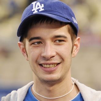 Celebrities At The Dodgers Game