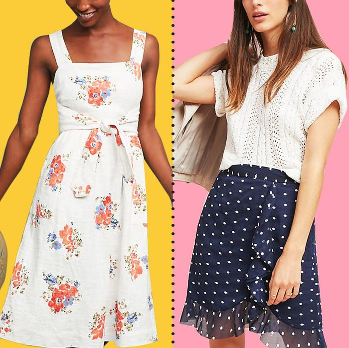 df5ff6b2697b Now's the Time to Buy (Even-More-on-Sale) Dresses From Anthropologie