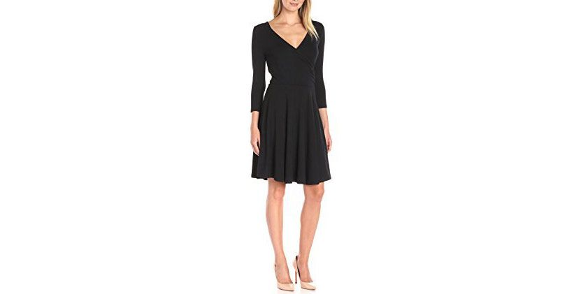 Lark & Ro Wrap Dress