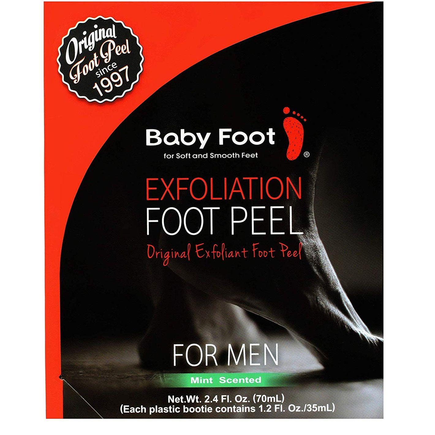 Baby Foot - Exfoliant Foot Peel For Men