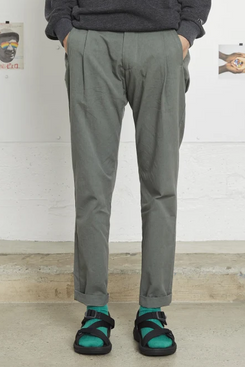 Entireworld Cotton Pleated Trousers