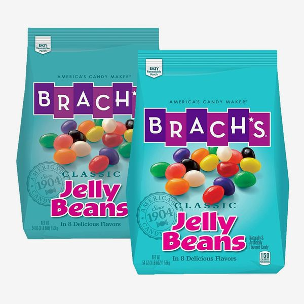 Brach's Classic Jelly Beans Assorted Flavors, 3.38 Pound Bulk Candy Bag (Pack of 2)