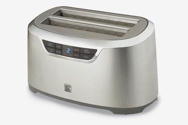 Kenmore Elite 4-Slice Auto-Lift Long Slot Toaster in Stainless Steel