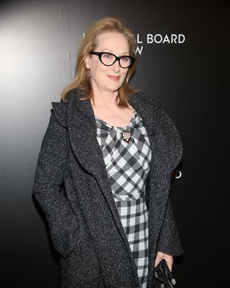 Meryl Streep==National Board of Review Awards Gala, Arrivals==Cipriani 42nd Street, NYC.==January 07, 2014==?Patrick Mcmullan==photo-Sylvain Gaboury/PatrickMcmullan.com====